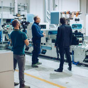 Sergio Pasquini responsabile di produzione etic.a labels srl stampiamo etichette con passione e competenza
